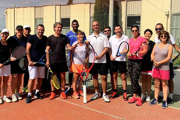 Allaudien tennis club - école de tennis adulte